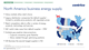 North America business energy supply