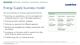 Energy Supply business model
