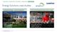 Energy Solutions case studies